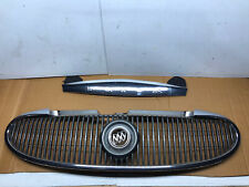 2004-2007 Buick Rainier Grill Grille With Hood Silver Panel 04-08