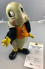"9.5"" Antique American Composition Jiminy Cricket Doll! Adorable! 17762"