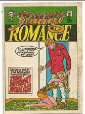 Dc Comic Cover Sticker[1969/1970].Young Romance 160.