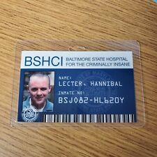 Silence Of The Lambs ID Badge - Hannibal Lecter cosplay costume