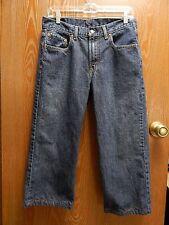 Levi's 550 Relaxed Boys 20 Reg 30x30 (32/21) Blue Denim Jeans