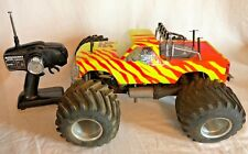 Vintage RC Kyosho USA 1 Nitro Crusher 1:10 Monster Truck 4x4 O.S. Max Engine