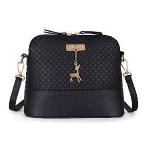 Ladies CrossBody Messenger Bag Shoulder Bags Handbags Detachable Women's