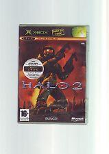 Halo 2 FPS Tirador Original XBOX JUEGO/360 compatible-Original y Completo