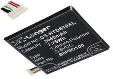 Batterie 2040mAh type 35H00222-00M B0P9O100 Pour HTC Desire D610x