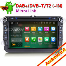 """8"""" Android 9.0 DAB+ Car Stereo GPS OPS BT For VW Passat Golf 5/6 Touran Eos Polo"""