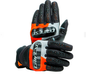 GLOVES DAINESE D-EXPLORER 2 GLACIER-GRAY / ORANGE / BLACK