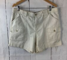 Covington Women's Size 34 Tan Khaki Cotton Summer Walking Hiking