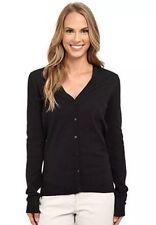 WOMENS NIKE Golf Cardigan SPORT Full LONG SLEEVE Sweater SIZE L 725651 010 BLACK