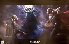 New listing 2017 Sdcc Thor: Ragnarok movie Concept Art poster + Imax Avengers Endgame
