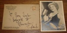 ANNA NEAGLE SIGNED NELL GWYNN PUBLICITY PHOTO W/ ENVELOPE UACC REGISTERED DEALER