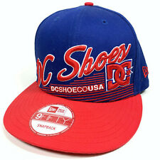 New Era 9Fifty DC Shoes Script Snapback BRAND NEW Adjustable Hat Cap Skate BMX