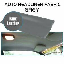 Upholstery Headliner Foam Back Repair Roof Liner w/Faux Leathertte Cloth 85