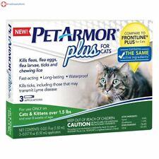 Petarmor Flea Tick Cat + 1.5lb 3ct