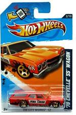 2012 Hot Wheels #132 HW City Works '70 Chevelle SS Wagon