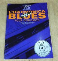 L'HARMONICA BLUES POUR DEBUTANTS avec CD - EDITIONS MUSICALES FRANCAISES