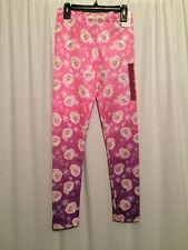 NWT  Disney Frozen Girls Size Large 12  Elsa Pink Purple Print Legging Pants