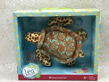 "American Girl Sea Turtle Plush 6"" Lea Clark Pet Rainforest 2016 Animal Toy New"