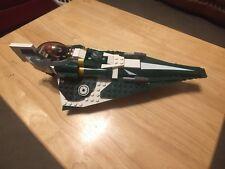 Lego 9498 Saesee Tiins Jedi starfighter Green Starwars R3-D5 Droid minifigure