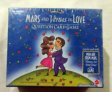Mars and Venus in Love Question Card Game For Adults Party Game Mattel