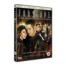 FARSCAPE The Peacekeeper Wars Miniserie Finale 2DVD in Inglese NEW .cp.