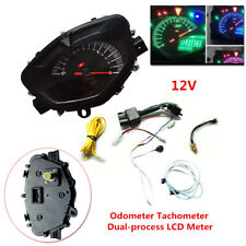 Motorcycle modified LCD meter Speedometer Odometer Tachometer Dual-process LCD