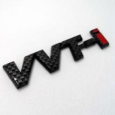 Car VVTI VVT-I Trunk Badge Emblem Sticker Side badge Carbon Fiber
