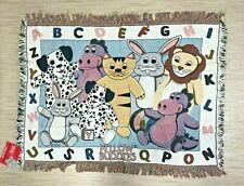 "Pillow Buddies Cotton Cuddly Soft Kid's Blanket 36"" x 45"" New Needs Spot Clean"