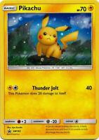 Pikachu SM183 Rare Holo Pokemon Promo Card (Sun & Moon Unbroken Bonds)