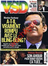 VSD n°1799 du 16/02/2012 Sarkozy Withney Houston Dr House