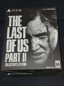 The Last of Us Part II : Collectors Edition Sony (PlayStation 4, 2020)