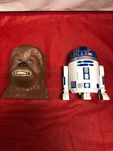 Star Wars Micro Machines Chewbacca RD-D2 Play-sets by Galoob 1994 1995