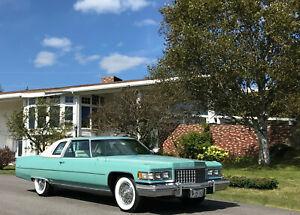 1976 Cadillac DeVille Coupe DeVille