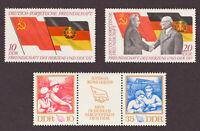 DDR 1972 Mi.-Nr. Zusammendruck 1761-1762,  1759 - 1760 postfrisch
