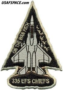 USAF 335th EXPEDITIONARY FIGHTER SQ –DYNAMIC FORCE DEPLOYMENT 2021- VEL PATCH