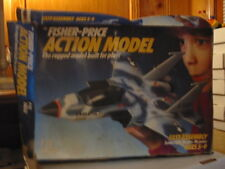 Rare Fisher Price 1984 #526 F-15 Eagle Fighter Jet Kit New with Box