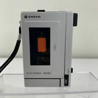 Vintage Sanyo TRC 2000 Tape Player Recorder Memo Machine 70s *FOR PARTS*