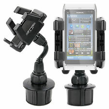 Samsung Galaxy Note II N7100 Phone Mount & Adjustable Holder With Cup Hold Base