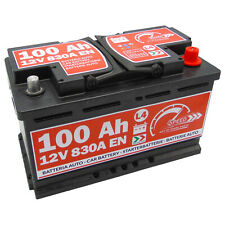 BATTERIA AUTO SPEED L4 100 Ah 830A = FIAMM 90Ah 95Ah 100Ah DX + PRONTA ALL'USO
