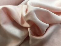Dusty Pink Soft 100% Viscose Dress Fabric Sold By Meter - Stylex8