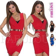 Polyester Clubwear Asymmetrical Hem Women's Dresses