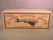 Langley Miniatures Karrier step trailer OO Scale UNPAINTED Metal Model Kit G140