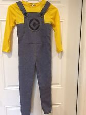 Despicable Me 2 Minion Child Dress Up Costume Boys Outfit Size Small-EUC