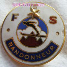 SK1547 -  INSIGNE badge FEDERATION FRANÇAISE DE SKI - 1ere ETOILE RANDONNEUR