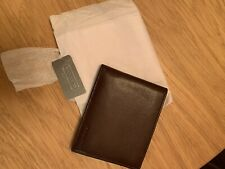 NEVER USED Coach Men's Leather Wallet
