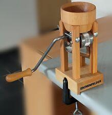 Eschenfelder Kornquetsche Flocker Flockenquetsche Tischmodell Holztrichter