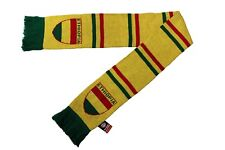 Ethiopia Yellow With Stripes Country Flag Logo Thick Scarf.Viva Souvenirs.New