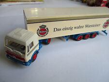 Herpa H0 Mercedes Koffersattelzug, Warsteiner !!!