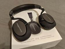 Bowers & Wilkins (B&W) PX wireless noise-cancelling headphones -space gray