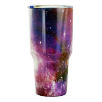 BonBon 30oz Tumbler Stainless Steel Cup with Lid Space Universe (Galaxy)